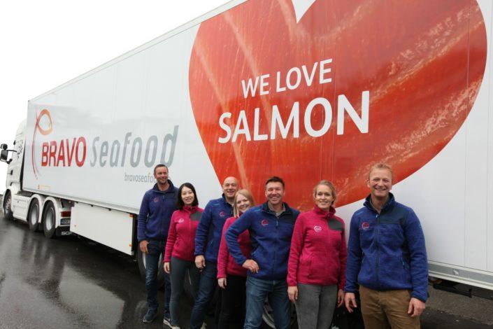 Bravo Seafood trailer