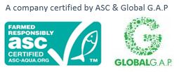 Global G.A.P. // ASC sertifisert